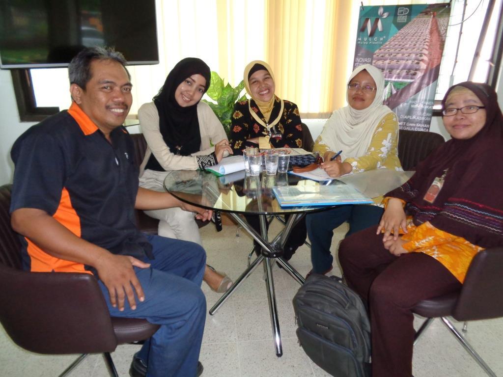 Pelaksanaan Monitoring siswa PSG di PT.Kencana Tiara Gemilang