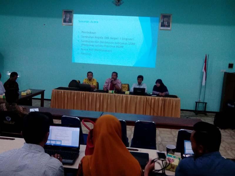 Workshop Verifikasi Dan Finalisasi Penyusunan Soal USBN (MGMP Ketenagalistrikan)