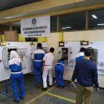 UKK Otomasi Industri Rancang Parkir PLC-HMI