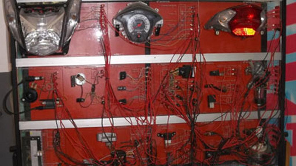 Simulator TBSM Mesin 4